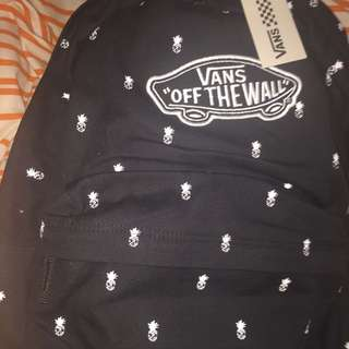 BRAND NEW VANS BACKPACK