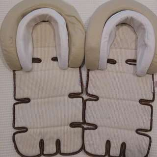 Munchkin Baby Dual Head Support For Car Seats, Prams, Strollers. Infant/baby Use