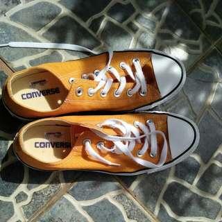 Converse Orange Yellowish