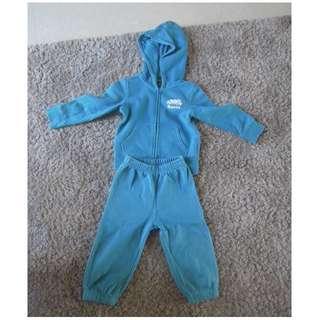Roots 3T 套裝 外套褲子 baby kids toddler 小童 加拿大 正品