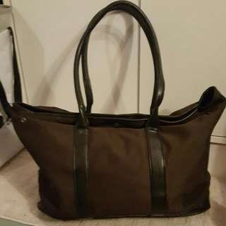Jacob tote bag brown and black