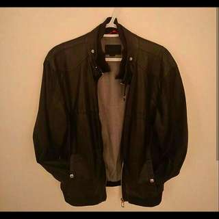 Jack & Jones Faux Leather Jacket