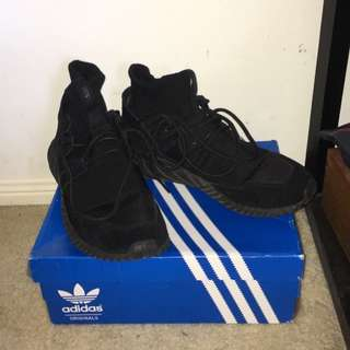 Triple Black X Tubular Doom Adidas