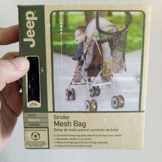 BN! Jeep Stroller Mesh Bag (Black)