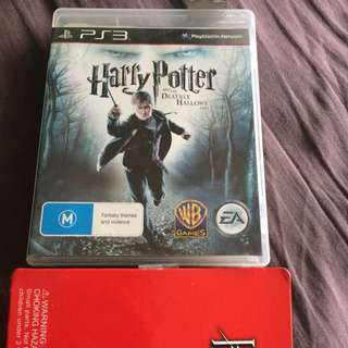 $10 PS3 Harry Potter Video Game