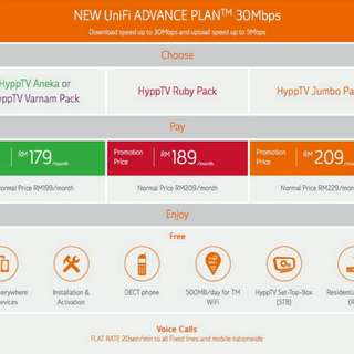 TM UNIFI 30Mbps (HOT DEAL)