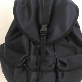 Black Waterproof Backpack