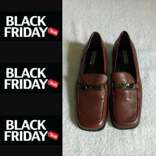 Repriced Free Shipping  Brown Pure Leather Shoes from US