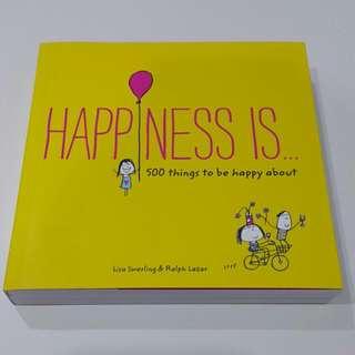 [插畫書] [英文童書] Happiness is....