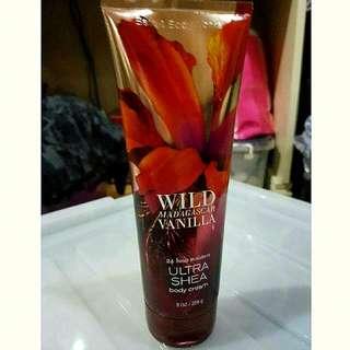 Bath & Body Works Wild Madagascar Vanilla Ultra Shea Body Cream