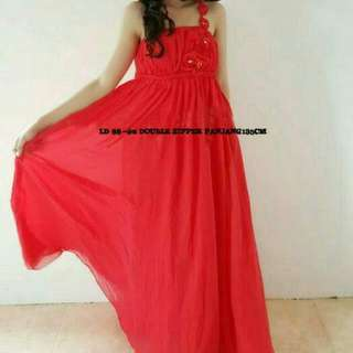 Gown/Dress Merah