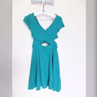 H&M Cut Out Flare Dress (ori)