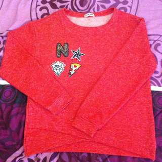 Red Sweater By Nevada