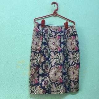 BNWOT Printed Skirt