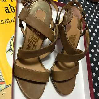 PRICE DROPPED Salvatore Ferragamo Bubino High Heeled Sandals