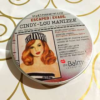 Cindy Lou-minzer By The Balm