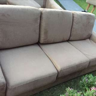 MICRO SUEDE LOUNGE Need To Be Sold ASAP