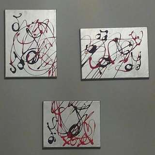 3 PC Painting Music