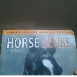 'Horse Sense' second edition, by Peter Huntington, Jane Myers, and Elizabeth Owens
