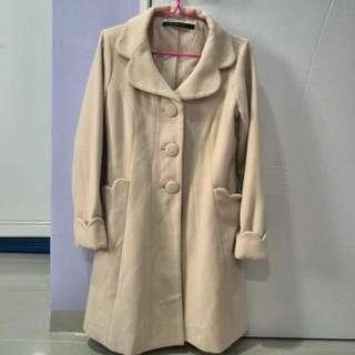 Japan winter woolen coat
