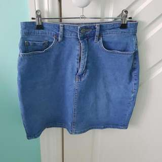 Lee Denim Skirt