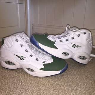 VINTAGE REEBOK QUESTIONS SIZE 14 NEGOTIABLE PRICE