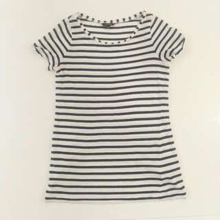 Portmans Striped Tee - Size L
