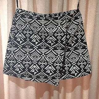 Short Asymetrical Tribal Skirt Size 12