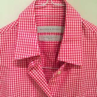 Shirt - Rhodes & Beckett - Small Checked