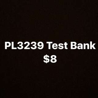 PL3239 Test bank