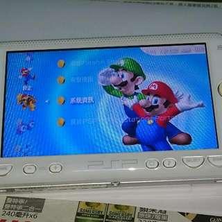 PSP 白色的