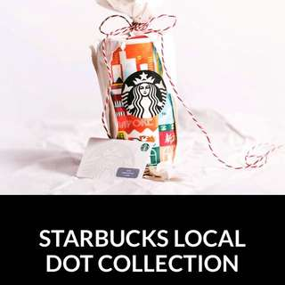 Starbucks Singapore Local Dot Collection 20 years Anniversary Without Card