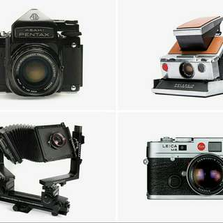 Want To Buy  Non-usable Defective Vintage Cameras To Decorate Table