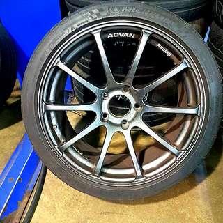 """Advan RS 18"""" Rims (Original)"""