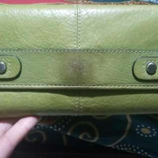 Dompet Fossil Green Vintage