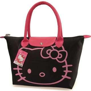 Brand New Hello Kitty tote Bag (longchamp design)