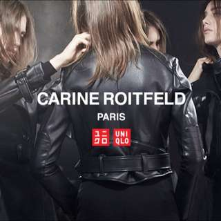 Uniqlo Caribe Roitfeld CR 全新徹斯特大衣