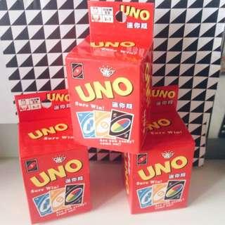 Uno Mini Playing Cards
