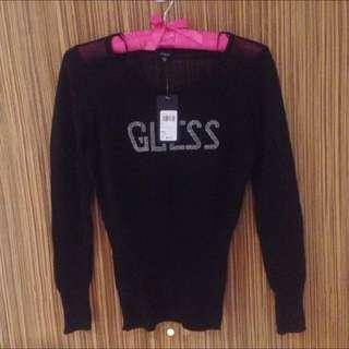 GUESS Sheer Sweater TOP