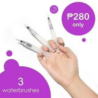 *PREORDER AVAILABLE FOR END OF JANUARY 2018* Sakura Waterbrush Set Of 3 (S, M, L Fine Tip)