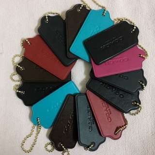 (REDUCED!) Authentic Coach Hang Tag