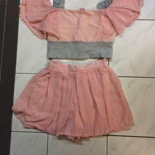 Pink Shirt And Top