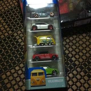 Hot Wheels Volkswagen Mattel Set