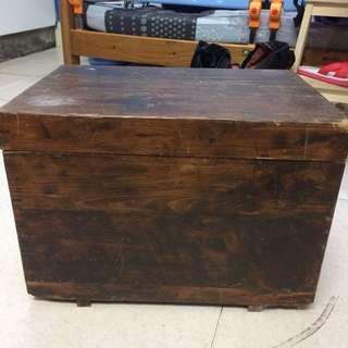 小木箱 家庭老物