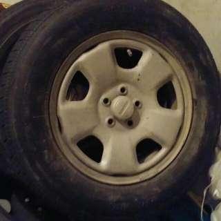 Stock Subaru Impreza Wheels And Tires