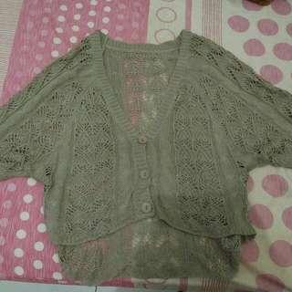 Sweater Asimetris Rajut
