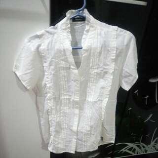 White Blouse size: Large