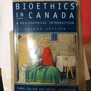 Bioethics in Canada-2nd Edition