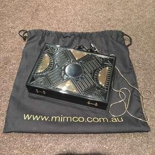Mimco Hard Case Handbag/Clutch