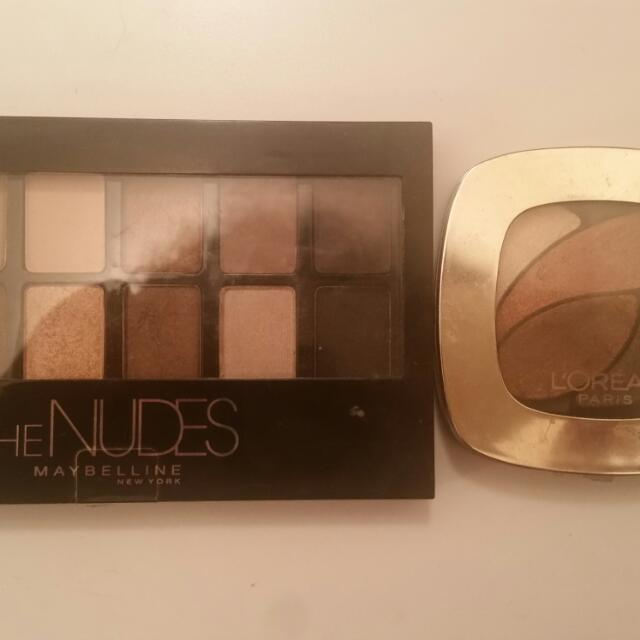 2 Slightly used Pallette Both For $10